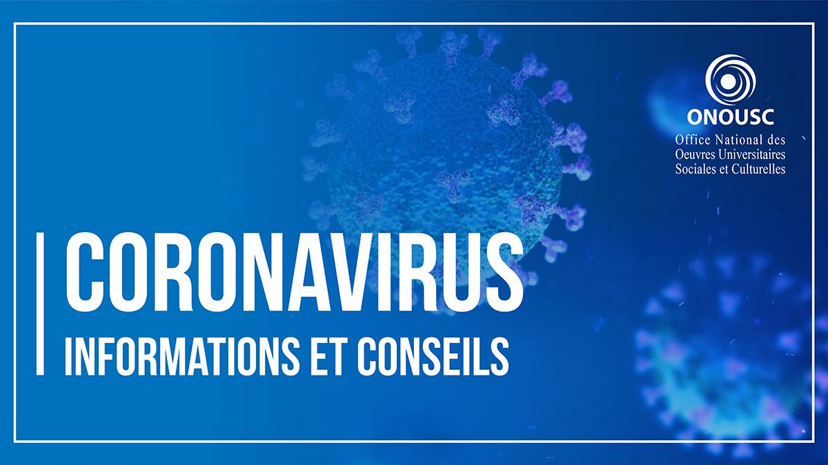 Coronavirus – informations et conseils