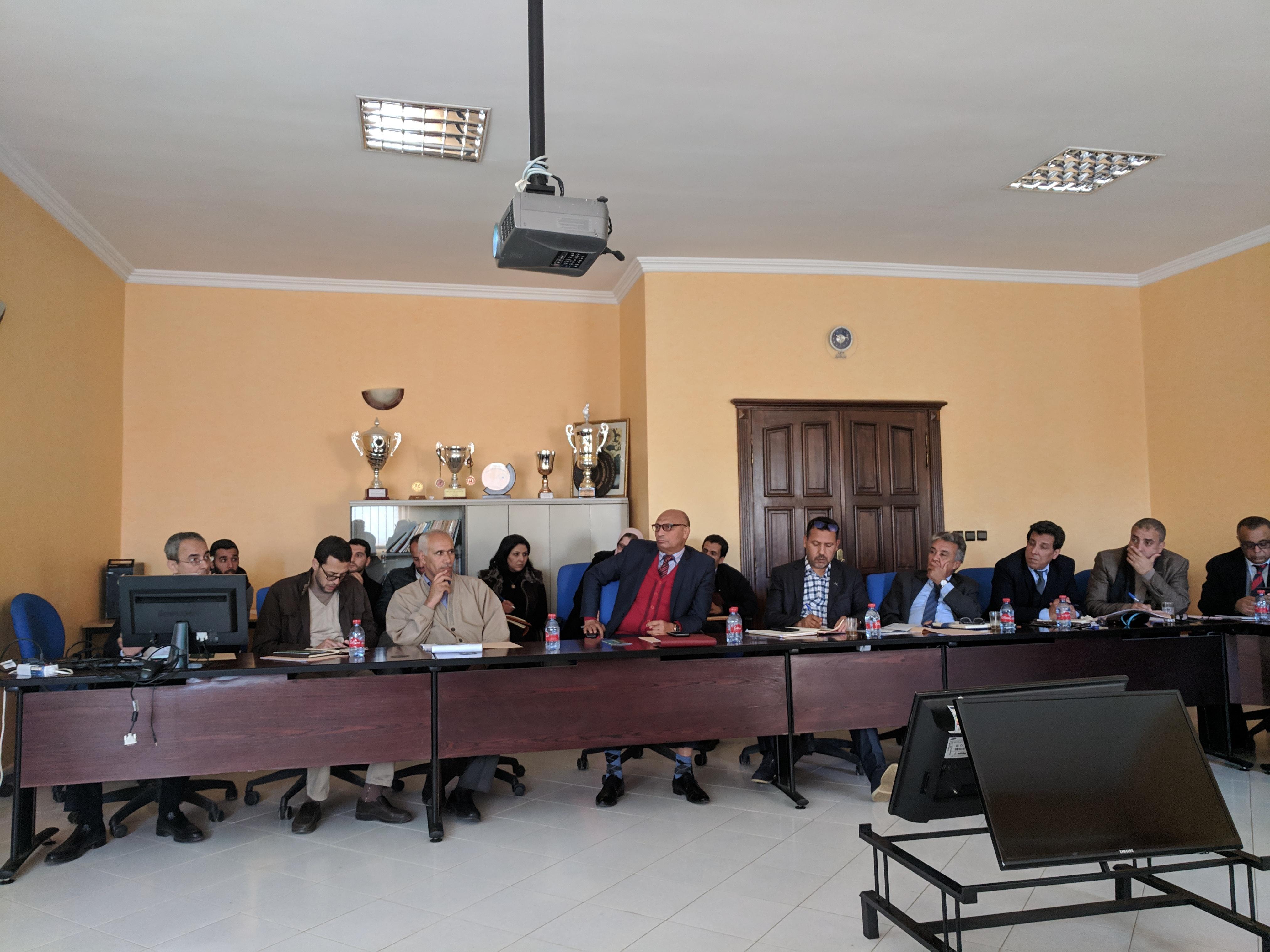 Caravane AMOE à l'université Meknès