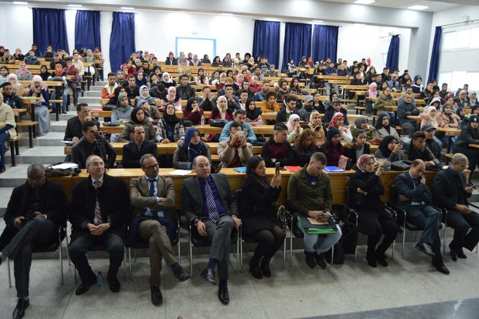 Caravane AMO Etudiants à l'université de Tétouan