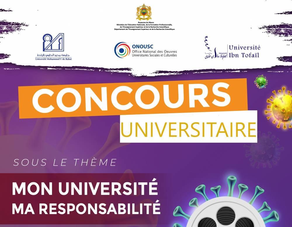 Concours Universitaire : sensibilisation CORONAVIRUS